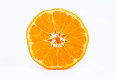 Halv Tangerine Fotografering för Bildbyråer
