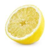Halva av citronen Royaltyfria Foton