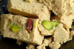 Halva avec des pistaches Image stock