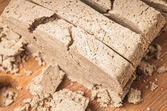 Halva closeup Royalty Free Stock Photos