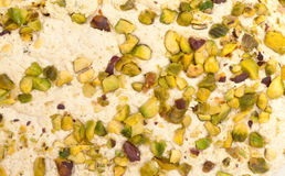Halva con los pistachos Imagenes de archivo