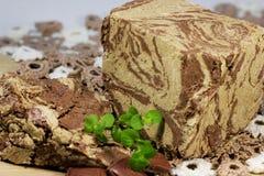 Halva a dessert Royalty Free Stock Image