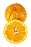 Halva en apelsin Royaltyfri Bild