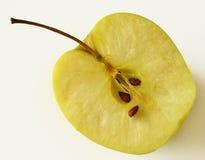 Halva ett äpple Arkivbild