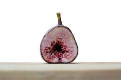 Halva fikonträdfrukter för frys Royaltyfri Fotografi