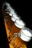 Halva liter för öl Arkivbild