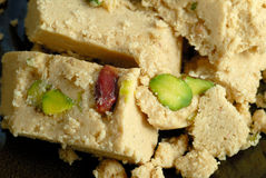 Halva with pistachios Stock Image