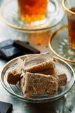 Halvah, παραδοσιακό ανατολικό γλυκό Στοκ Εικόνες