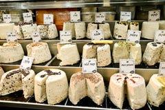 Halvah, marché, Jérusalem, Israël Photo stock
