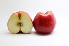 Halve appel Royalty-vrije Stock Afbeelding