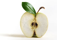 Halve appel Stock Foto