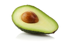 Halve Avocado   stock foto's