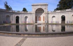 Halve cirkel van de Arlington de Nationale Begraafplaats Royalty-vrije Stock Foto's