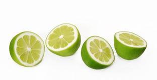 Halve citrics. Stock Foto's