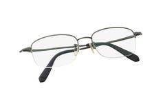 Halve frame bril Stock Foto's