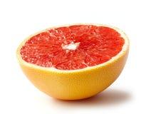 Halve grapefruit Royalty-vrije Stock Afbeelding