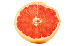Halve grapefruit Royalty-vrije Stock Foto's