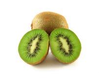 Halve kiwi Royalty-vrije Stock Foto's