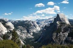 Halve Koepel bij Yosemite-Vallei Stock Foto