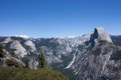 Halve Koepel in Vallei Yosemite Stock Afbeelding