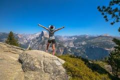 Halve Koepel Yosemite royalty-vrije stock foto's