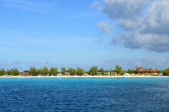 Halve Maancay, de Bahamas Royalty-vrije Stock Fotografie