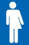 Halve man halve vrouw Stock Afbeelding