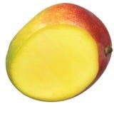 Halve mango Royalty-vrije Stock Afbeeldingen