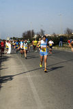 Halve Marathon Rome-Ostia Royalty-vrije Stock Foto's