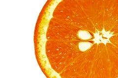 Halve sinaasappel Royalty-vrije Stock Foto