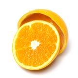 Halve sinaasappel Stock Foto's