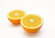 Halve sinaasappel Royalty-vrije Stock Afbeelding