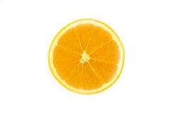 Halve sinaasappel Stock Fotografie