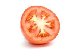 Halve tomaat. Stock Fotografie