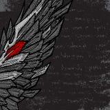 Halve vleugel vector illustratie