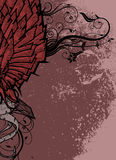 Halve vleugel royalty-vrije illustratie