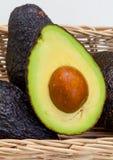 halved авокадо Стоковые Фото