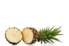 Halved ananas Stock Image