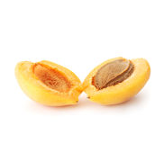 Halved Apricot. Professionally retouched high quality image Stock Photography