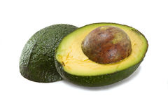Halved avocado Royalty Free Stock Image
