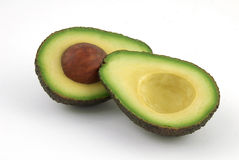 Halved Avocado Royalty Free Stock Images