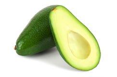 Halved avocado Stock Photo