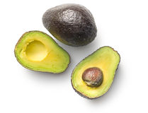 Halved avocado Stock Image