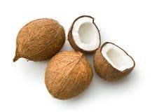 Halved coconut Royalty Free Stock Photos