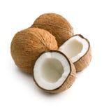 Halved coconut Stock Photos