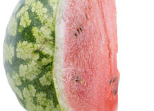 Halved fresh juicy watermelon Royalty Free Stock Photography