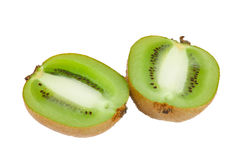 Halved fresh kiwi Royalty Free Stock Photos