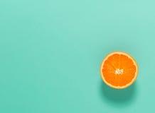 Halved fresh orange Royalty Free Stock Photography