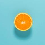 Halved fresh orange Royalty Free Stock Images