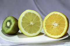 Fruit in a bowl Royalty Free Stock Photography